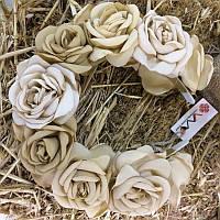 Ободок «Чайные розы», фото 1