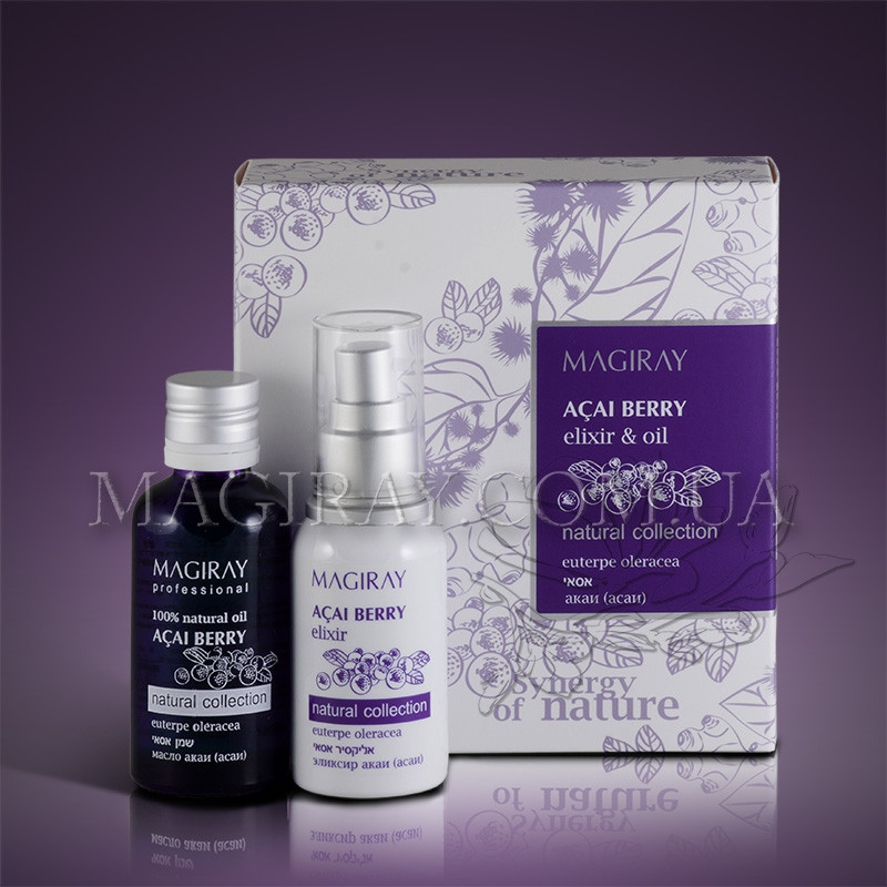 ACAI elixir & oil - Натур. масляный и водный экстракт ягод АСАИ(50/60мл)