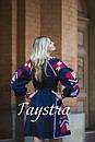 Платье  бохо вышиванка лен, этно, стиль бохо шик, вишите плаття вишиванка, Bohemian,выпускное платье, фото 7