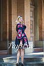 Платье  бохо вышиванка лен, этно, стиль бохо шик, вишите плаття вишиванка, Bohemian,выпускное платье, фото 8
