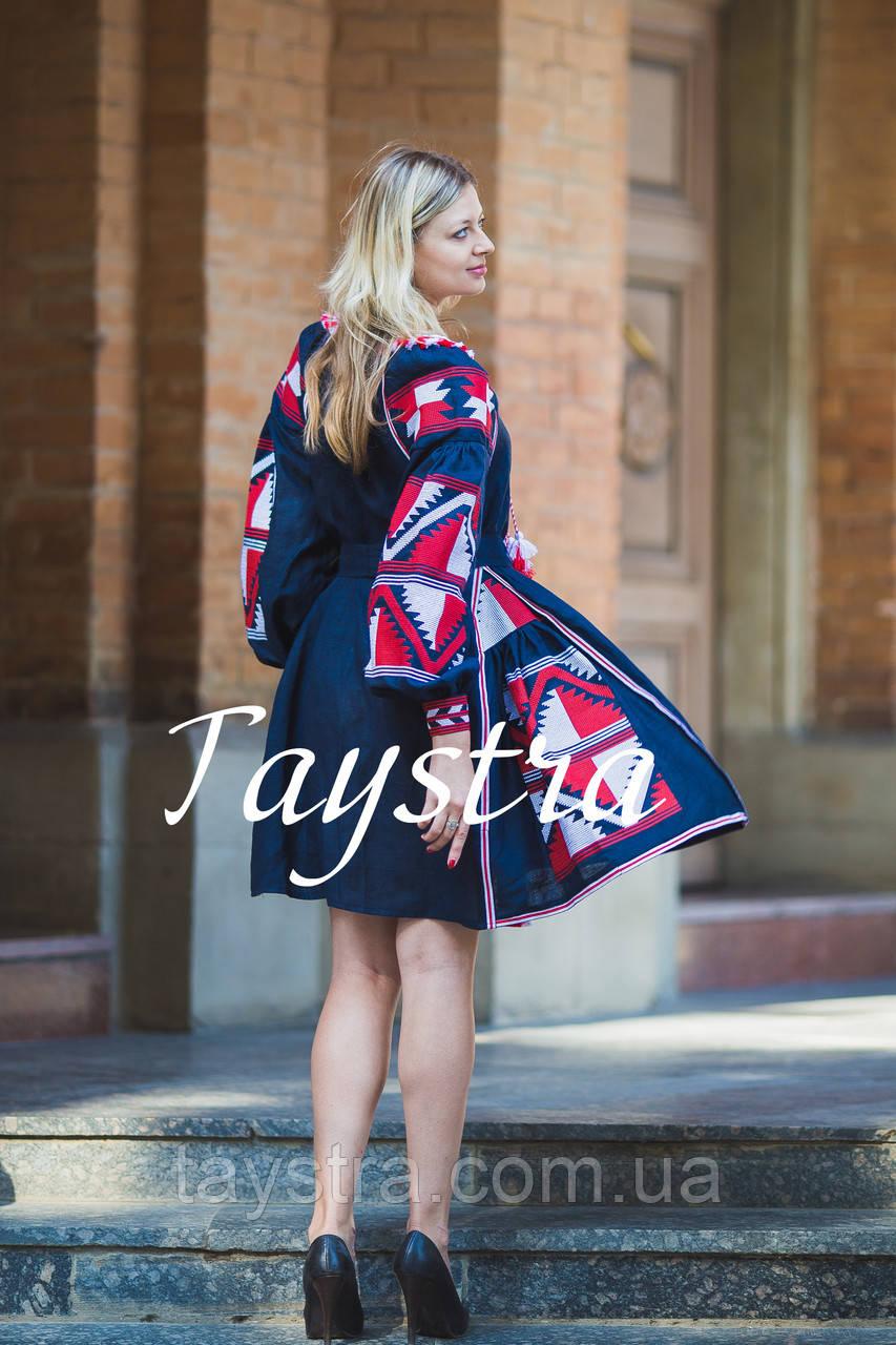 Платье  бохо вышиванка лен, этно, стиль бохо шик, вишите плаття вишиванка, Bohemian,выпускное платье