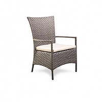 Плетеное кресло из искусственного ротанга hawaii 64.5x67.5x95.5 см