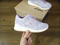 Женские кроссовки Asics Gel-Lyte V Aix-en-Provence - Асикс Гель Лайт Серые с розовым