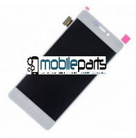 Оригинальный дисплей (модуль) + сенсор (тачскрин) для Fly IQ4516 (белый)