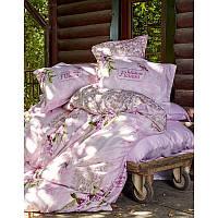 Постельное белье Karaca Home - Wisteria 2016 pembe розовое сатин евро