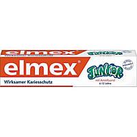Elmex Junior-Zahnpasta 75 ml - Детская зубная паста, от 6 до 12 лет, 75 мл
