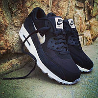 Мужские кроссовки Nike Air Max 90 Essential Black-White