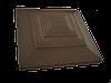 """Крышка для забора LAND BRICK """"карпаты"""" коричневая 310х310 мм"""