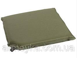 Самонадувное сиденье-подушка (каремат), olive. Mil-tec, Германия.