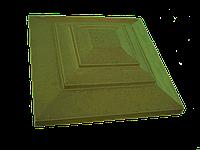 """Крышка для забора LAND BRICK """"карпаты"""" желтая 310х310 мм"""