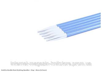 Спицы носочные Zing KnitPro 20 см | 4.5 мм