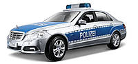 Автомодель Maisto 1:18 Mercedes Benz E-Class German Police Серебристо-синий (36192 silver-blue)