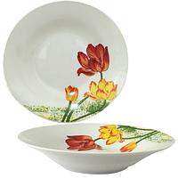 Суповая тарелка 20 см Тюльпан SNT 55618