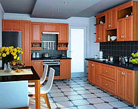 Кухня с пленочным МДФ фасадом