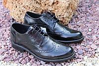 Мужские туфли RONDO натуральная кожа, , фото 1