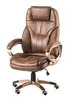 Кресло офисное, компьютерное Bayron taupe, светло-коричневое