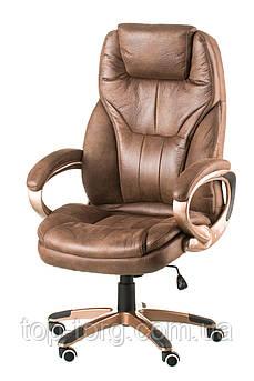Крісло офісне, комп'ютерне Bayron taupe, світло-коричневе