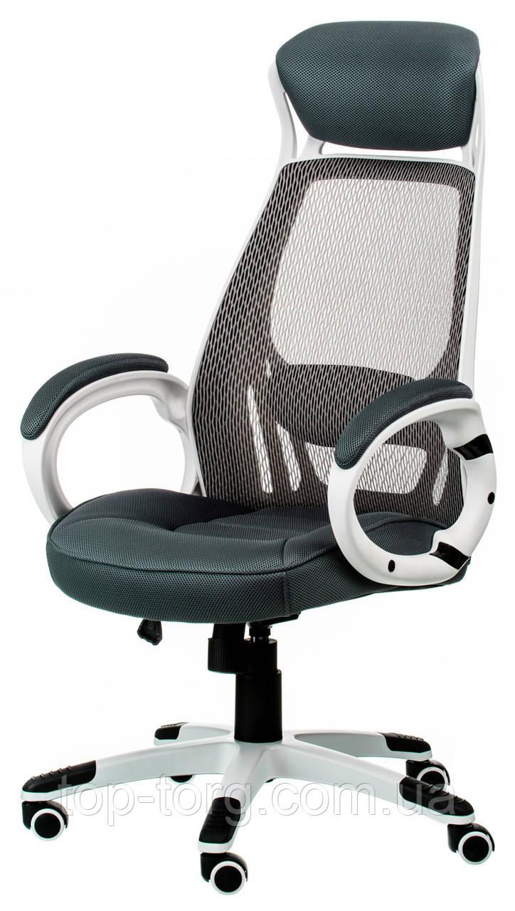 Кресло офисное, компьютерное Briz grey, серое