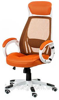 Кресло офисное, компьютерное Briz orange, оранжевое