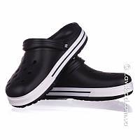 Мужские черные кроксы Calypso