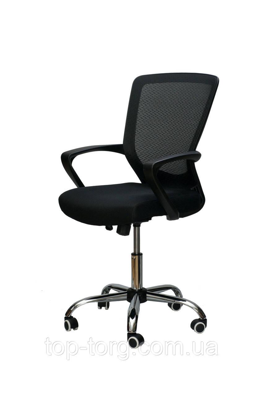 Кресло офисное, компьютерное Marin black, черное