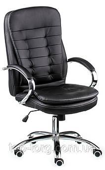Крісло офісне, комп'ютерне Murano dark, темно-синє, чорне