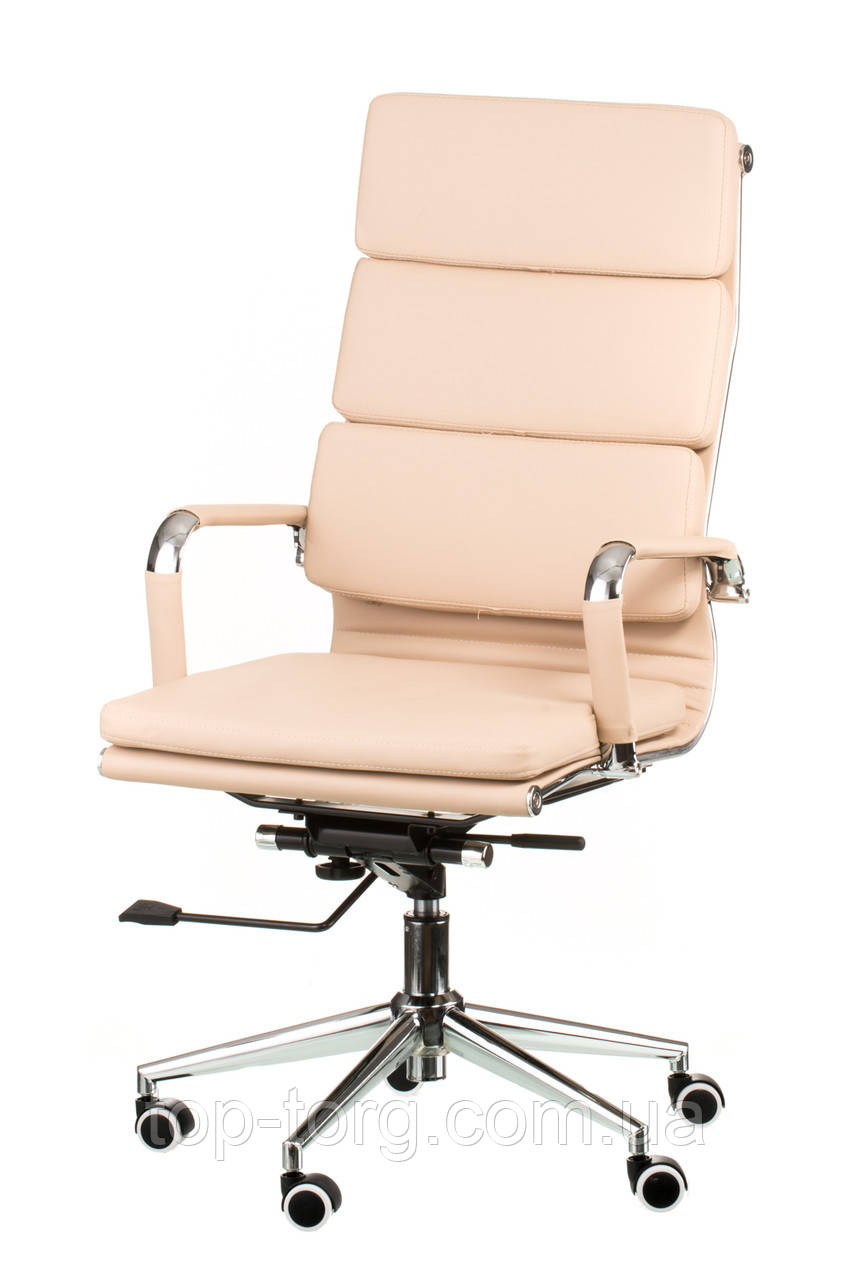 Кресло офисное, компьютерное Solano 2 artleather beige, бежевое