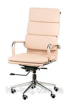 Крісло офісне, комп'ютерне Solano 2 artleather beige, бежеве