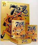 """Капсулы для повышения мужской потенции """"72 Bian""""(6 шт)."""