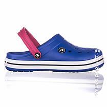 Женские синие кроксы Calypso, фото 2