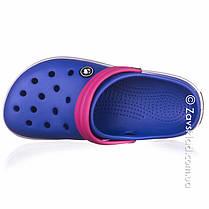 Женские синие кроксы Calypso, фото 3