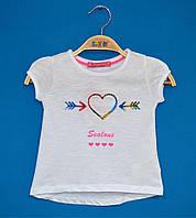 Детские футболки для девочек 1-4 года, Футболки детские Турция оптом