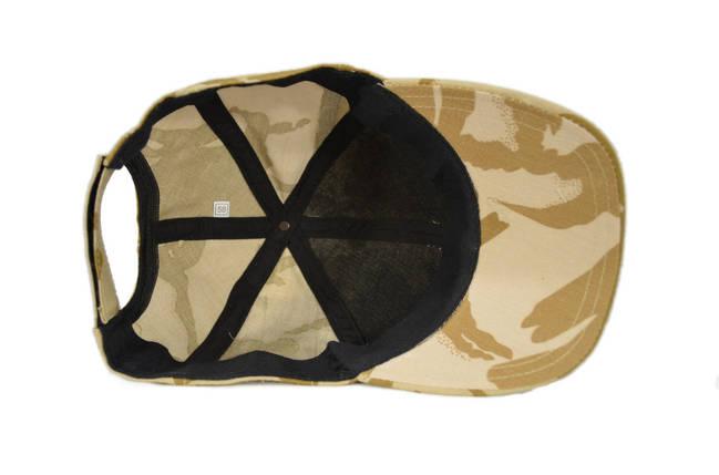 Бейсболка летняя камуфляжная из натуральной ткани в расцветке DDPM (оригинальная ткань), фото 2