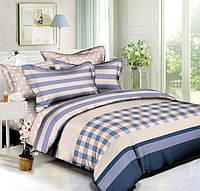Комплект постельного белья евро 200*220 хлопок  (5477) TM KRISPOL Украина