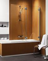 Radaway Шторка на ванну RADAWAY Carena PND 130 R, профиль хром, стекло коричневое, правая