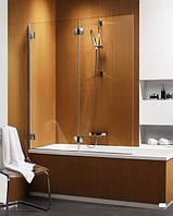 Radaway Шторка на ванну RADAWAY Carena PND 130 L, профиль хром, стекло коричневое, левая