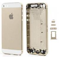 Back cover для iPhone 5S Gold золото
