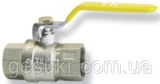 Кран шаровый муфтовый (ручка, г/г) ТК Газ ДУ 15