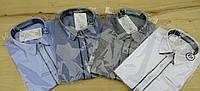 Рубашка классическая с коротким рукавом. Размеры: 140,146,158,164