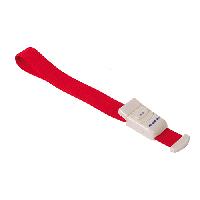 Жгут (медицинский) венозный с застежкой, красный
