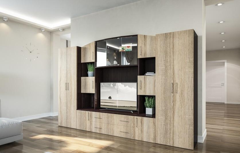стенка для гостиной фабиана изысканная современная мебель для