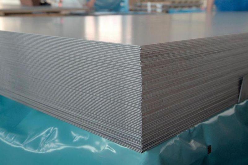 Лист нержавеющий г/к 8 мм aisi 321 (08Х18Н10Т)