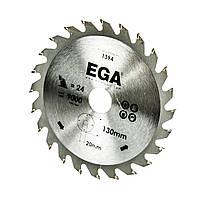 Диск по дереву 130х20/16 мм, 30 зуб. EGA