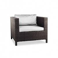 Кресло из ротанга TAKEN LV коричневое