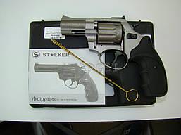 Револьвер флобера STALKER Titanium 4 мм 2.5'' черн. рук.