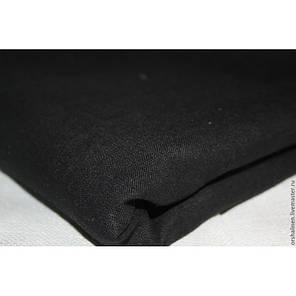Постельное белье лен Черный ТМ Царский дом  (Евро), фото 2