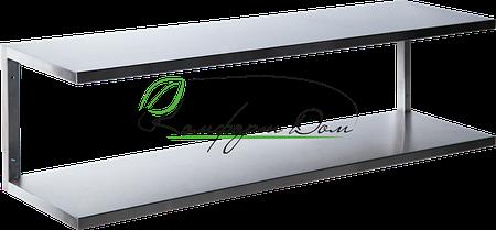 Полка навесная двухуровневая 600*300*350 НЖ