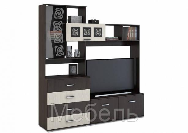 Центральная секция ТБ-800 Рошель  Сурская Мебель 2000*2120*450