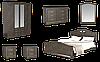 Спальня Агнес со шкафом 4Д