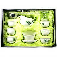 Набор китайской чайной церемонии Фарфор подарочный 10 предметов 9322